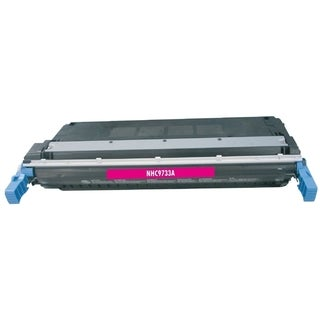 BasAcc Color Magenta Toner Cartridge Compatible with HP C9733A