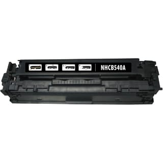 BasAcc Black Toner Cartridge Compatible with HP CB540A Canon 125A