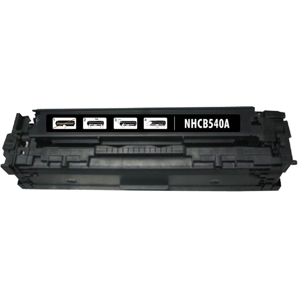 INSTEN Black Toner Cartridge for HP CB540A Canon 125A
