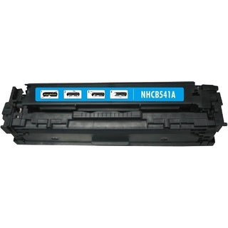 BasAcc Cyan Toner Cartridge Compatible with HP CB541A Canon 125A