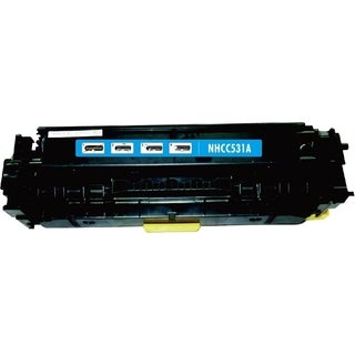 INSTEN Cyan Color Toner Cartridge for HP CC531A