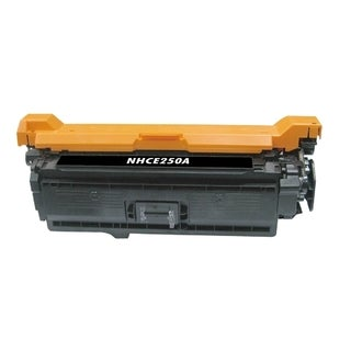 BasAcc Black Color Toner Cartridge Compatible with HP CE250A