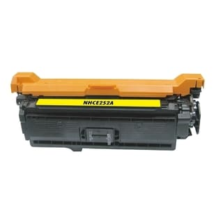 BasAcc Color Yellow Toner Cartridge Compatible with HP CE252A