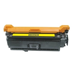 BasAcc Color Yellow Toner Cartridge Compatible with HP CE262A