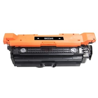 BasAcc Black Color Toner Cartridge Compatible with HP CE264X