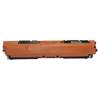 BasAcc Black Toner Cartridge Compatible with HP CE310A Canon 126A