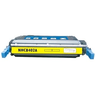BasAcc Color Yellow Toner Cartridge Compatible with HP CE402A