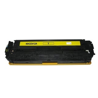 INSTEN Color Yellow Toner Cartridge for HP CE412A
