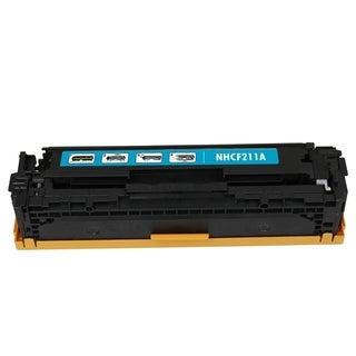 BasAcc Cyan Color Toner Cartridge Compatible with HP CF211A