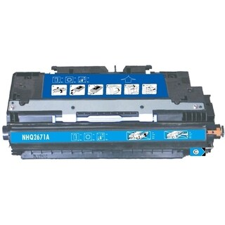 BasAcc Cyan Color Toner Cartridge Compatible with HP Q2671A