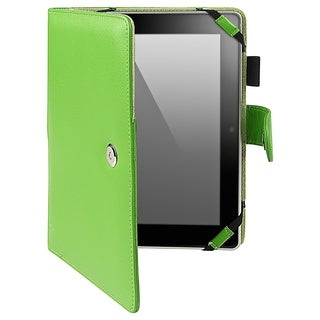 BasAcc Green Leather Case for Amazon Kindle HD 8.9-inch