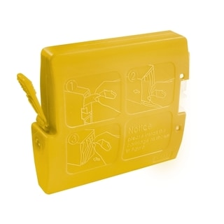 BasAcc Yellow Ink Cartridge Compatible with Brother LC-51Y