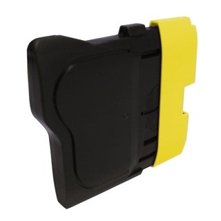 BasAcc Yellow Ink Cartridge Compatible with Brother LC61