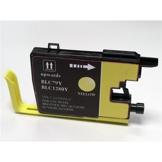 BasAcc Yellow Ink Cartridge Compatible with Brother LC79