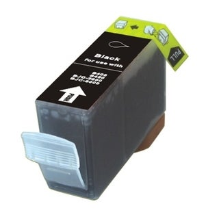 BasAcc Black Ink Cartridge Compatible with Canon BCI-3eBK
