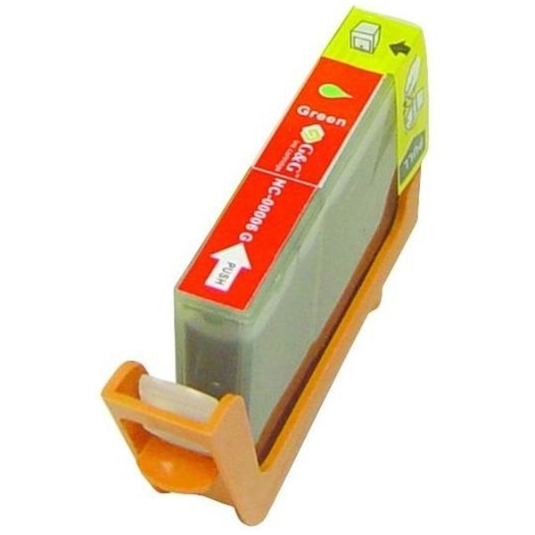 INSTEN Green Ink Cartridge for Canon BCI-6G
