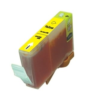 BasAcc Yellow Ink Cartridge Compatible with Canon BCI-5/ 6Y