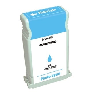 BasAcc Photo Cyan Ink Cartridge Compatible with Canon BCI-1302PC