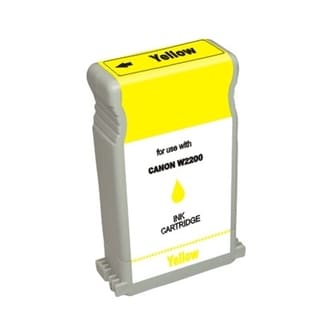BasAcc Yellow Ink Cartridge Compatible with Canon BCI-1302Y
