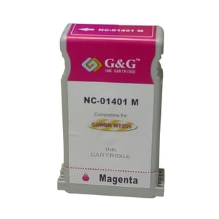 BasAcc Magenta Ink Cartridge Compatible with Canon BCI-1401M