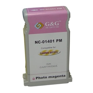 BasAcc Photo Magenta Ink Cartridge Compatible with Canon BCI-1401PM