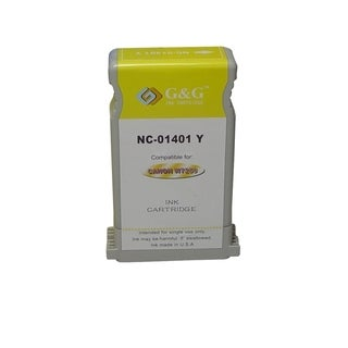 BasAcc Yellow Ink Cartridge Compatible with Canon BCI-1401Y