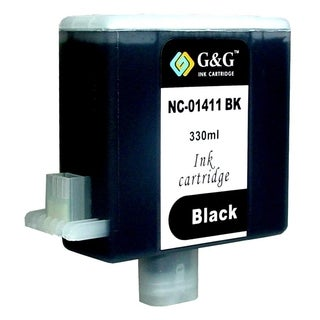 BasAcc Black Ink Cartridge Compatible with BCI-1411Bk