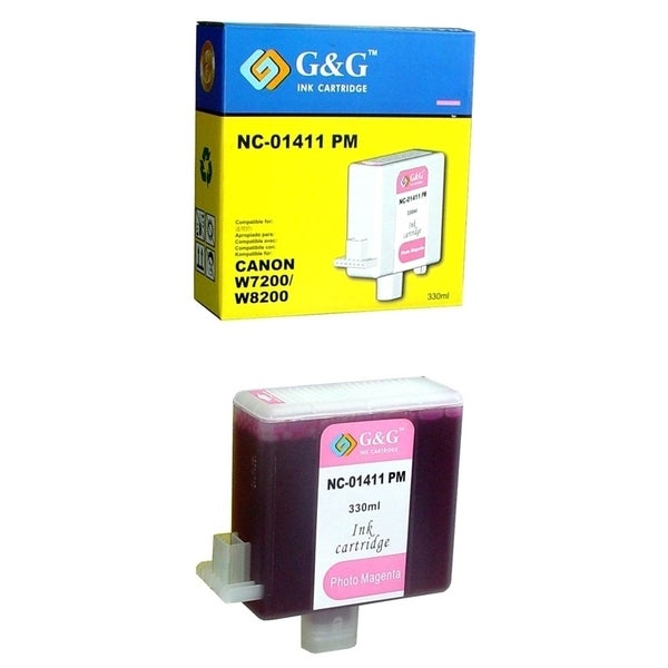 INSTEN Photo Magenta Ink Cartridge for BCI-1411PM