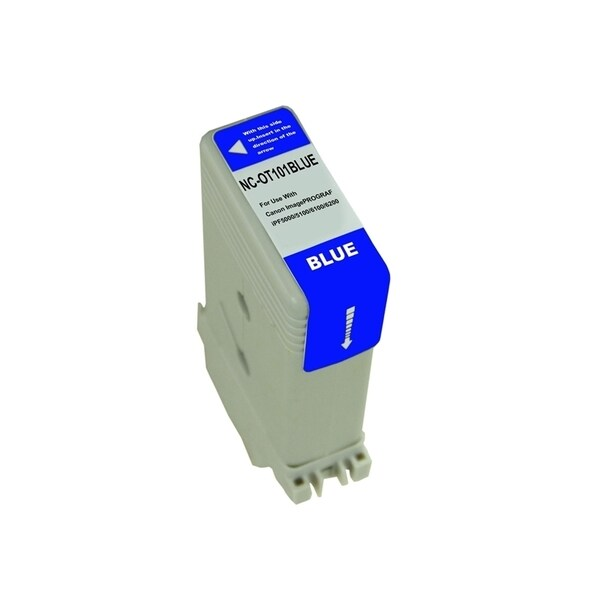 INSTEN Blue Ink Cartridge for Canon PFI101