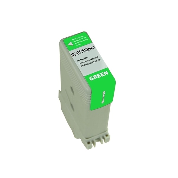 INSTEN Green Ink Cartridge for Canon PFI101