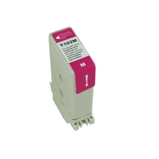 BasAcc Magenta Ink Cartridge Compatible with Canon PFI102M