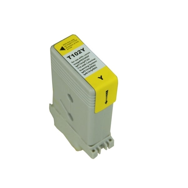 INSTEN Yellow Ink Cartridge for Canon PFI102Y
