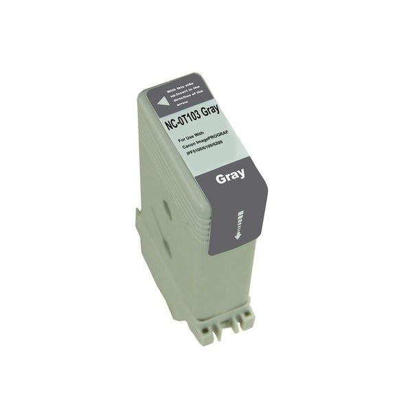 INSTEN Grey Ink Cartridge for Canon PFI103