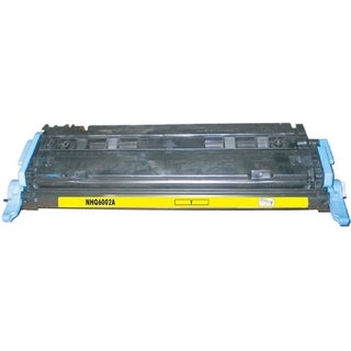 BasAcc Color Yellow Toner Cartridge Compatible with HP Q6002A