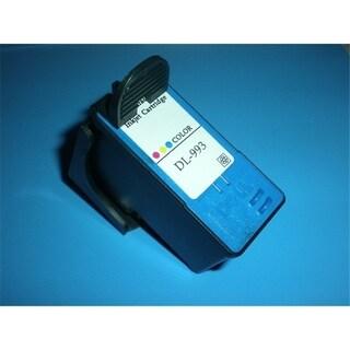 INSTEN Remanufactured Color Ink Cartridge for DellK993 Series 9 Color
