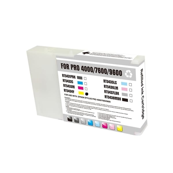 INSTEN Remanufactured Yellow Ink Cartridge for Epson T543400