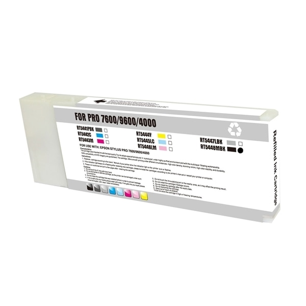 INSTEN Remanufactured Matte Black Ink Cartridge for Epson T544800