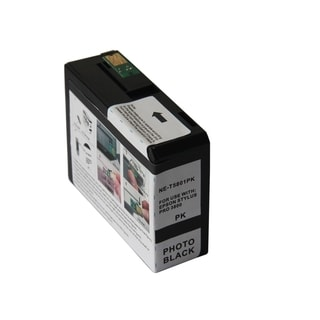 BasAcc Remanufactured Ink Cartridge for Epson T5801PBK
