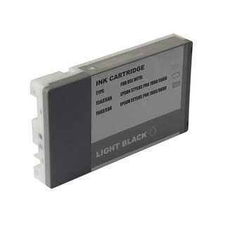 INSTEN Remanufactured Ink Cartridge for Epson T6037LBk