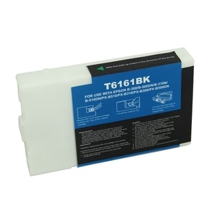 BasAcc Remanufactured Black Ink Cartridge for Epson T616100