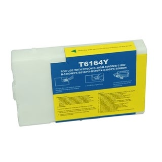 BasAcc Remanufactured Yellow Ink Cartridge for Epson T616400