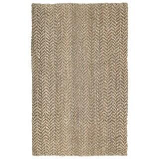 Napa Natural Herringbone Handmade Jute Rug (1'8 x 2'6)