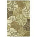 Hand-tufted Manhattan Swirls Rug (2' x 3')