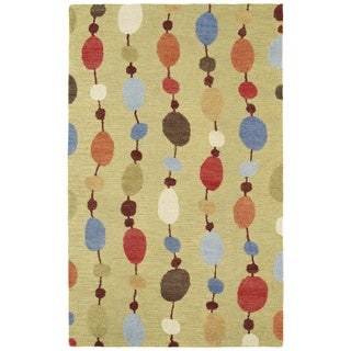 Hand-tufted Manhattan Strings Rug (7'6 x 9')