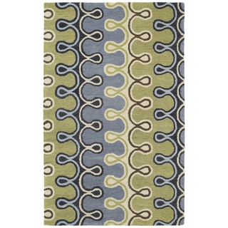 Hand-tufted Manhattan Mod Rug (7'6 x 9')