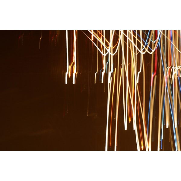 'Light Exposure' Abstract Canvas Wall Art