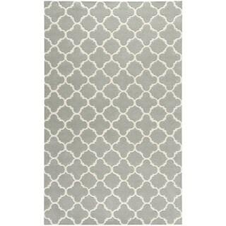 Safavieh Handmade Moroccan Chatham Grey Wool Rug (10' x 14')