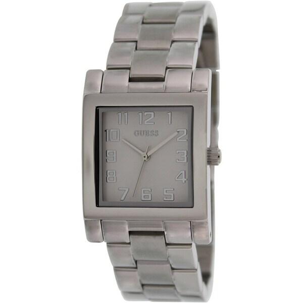 Guess Women's Silver Stainless Steel Quartz Watch