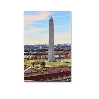 Gregory O'Hanlon 'Washington Monument' Canvas Art