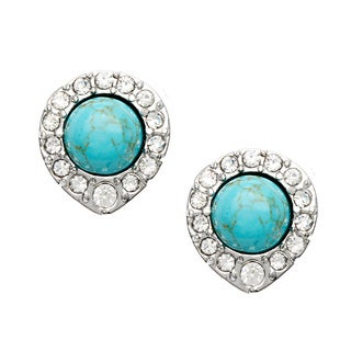 ABS Turquoise Stud Earrings